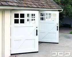swing out garage doors diy garage door ideas