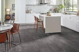 gray vinyl sheet flooring in a kitchen b6323