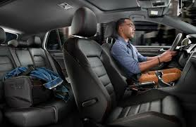 2017 volkswagen golf gti titan black leather interior