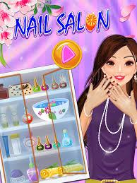 nail art design beauty salon high fashion glamour game s kids s