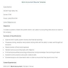 Tax Preparer Resume Samples Accountant Resume Skills Download Resume Sample Bank Accountant