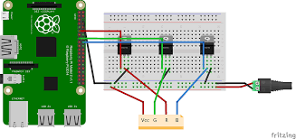 mosfet raspberrypi fet led lighting controller electrical diagram of schematic