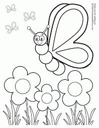 Free colouring pages for kids (that's coloring pages for those of you not using canadian/british spelling) for children to print out and colour offline with crayons. Worksheets Preschool Coloring Sheets Flowers And Butterflies Free Activity For Kindergarten Pages Activities Sight Word By Number Addition Letter H Oguchionyewu