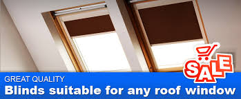loft window blinds. skylight blinds suitable for velux, roto, fakro any other roof window. loft window u