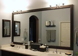 Bronze Mirror Bathroom Framed Bathroom Mirrors Ideas Free Image