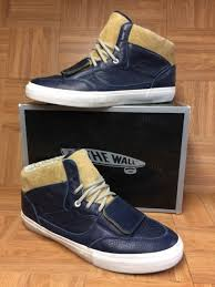 rare vans mt edition perf lx brown suede blue leather mountain edition sz 13