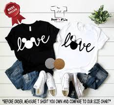 I Love Disney Shirts Disney Family Shirts Disney Trip Shirts Disney Mickey And Minnie Disney Matching Shirts Disney Love Disney Shirt