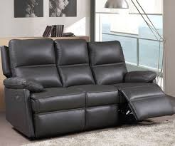 furniture link bailey bailey leather 3 seater electric