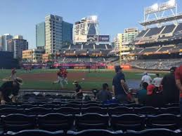 Petco Park Seating Chart Field Box Petco Park Section 110 Home Of San Diego Padres