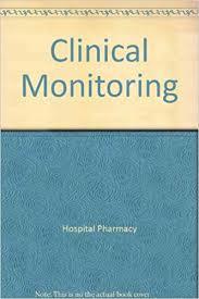 Clinical Monitoring Hospital Pharmacy Wall Chart