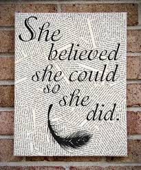office canvas art. Modern Newspaper Canvas Wall Art Quotes She Believed Could So Did Quill On Brick Office T