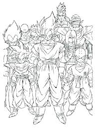 dragon ball z coloring book images pages pictures free library and page um size of super
