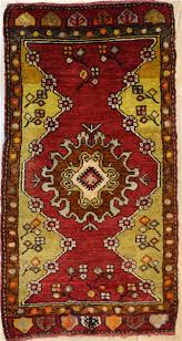 beautiful vintage small turkish rugs r7937