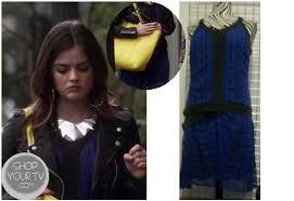 pretty little liars season 3 episode 17 aria s blue dress