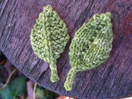 Leaf Knitting Pattern Cool Knitted Leaf Patterns Natural Suburbia