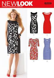 New Look 6209 Misses Dress