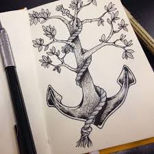 Small Picture The 25 best Anchor drawings ideas on Pinterest Anchor thigh