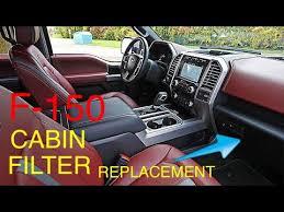 Motorcraft Air Filter Chart F 150 Cabin Air Filter Replacement 2015 2018