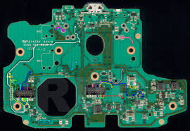 xb1 controller pcb scans traces and info 1537 1537 mcu board top