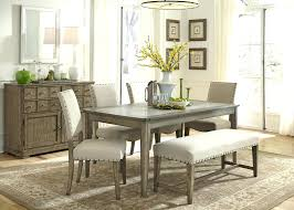 French Country Dining Table With Bench White Kitchen Contemporary