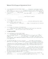 examples of custody agreements shared well agreement parenting template custody child examples