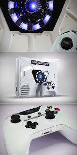Light Up Xbox One Custom Stark Industries Xbox One Has Light Up Arc Reactor
