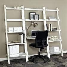 leaning shelf desk leaning bookcases leaning desks amp leaning shelves the container ladder bookcase with desk leaning shelf desk