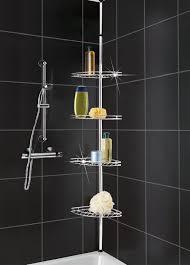 Corner Shelf Designs For Bathroom Bathroom Corner Shelf Completes Your Small Bathroom