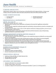 Job Resume Samples 4 Template Neoclassic Blue Classic 2 0 ...