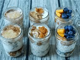 overnight oatmeal jars 3 ways video
