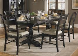 dark wood dining chairs. Liberty Furniture Whitney 7 Piece Trestle Dining Room Table Set | Wayside (or More) Dark Wood Chairs D