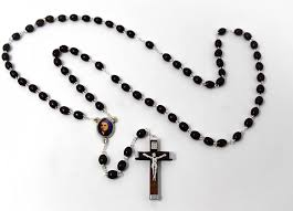 Wooden Rosary Beads Dedicated to Saint Bernadette - Catholic Gifts:  Amazon.co.uk: Kitchen & Home