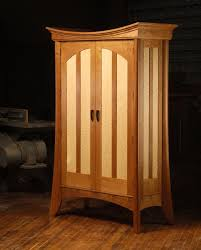 Cherry Or Maple Cabinets Custom Made Cherry And Maple Prayer Shawl Cabinet By Neal Barrett