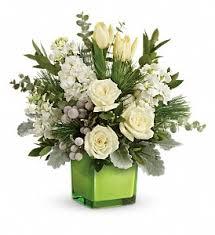 teleflora s winter pop bouquet in tulsa ok ted debbie s flower garden