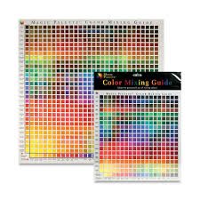 Artist Color Mixing Chart Magic Palette Color Mixing Guide
