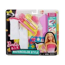 """Игровой <b>набор</b> Mattel <b>Барби</b> """"Акварельный <b>стиль</b>"""" DWK51 в ..."""