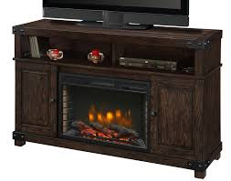 hudson 53 tv stand with fireplace