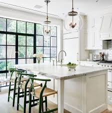 Nyc Kitchen Casement Steel Windows Traditional Island Off White Urban