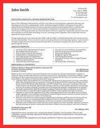 Sample Office Resume Good Resume Format