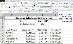 Microsoft Excel Basic Tutorial For Beginners