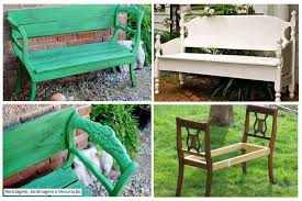 garden bench diy. diy garden bench from chairs