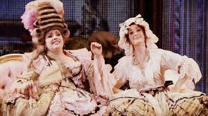 Sierra Boggess and Wendy Ferguson as Christine and... - Bienvenue! |  Broadway costumes, Sierra boggess, Christine daae