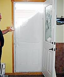 a householder in quebec canada opened his back door to find a wall of