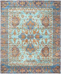 blue orange rug and gold rugs fashionable area navy grey blue orange rug