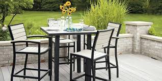 Commercial Outdoor Bar Furniture For Gorgeous Bar Height Outdoor