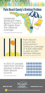 The Problem Palm Of Beaches Beach - Drinking Behavioral Infographic County's Health