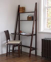 ... Astounding Ladder Desk Ikea Desks For Small Spaces Black Book Shelves  With Chairs And ...