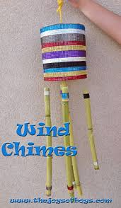 Wind Chimes I'm so excited to share this fun craft with you! A few years  back my husband and I went on a Caribbean cruise and on our different stops  I ...