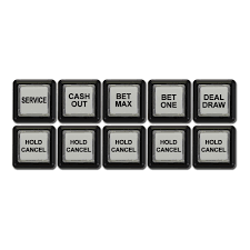spin inc quality gaming machines equipment igt picture of button set for igt players edge plus upright slant top w 15