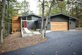 mid century modern garage door. Brilliant Mid Mid  On Century Modern Garage Door